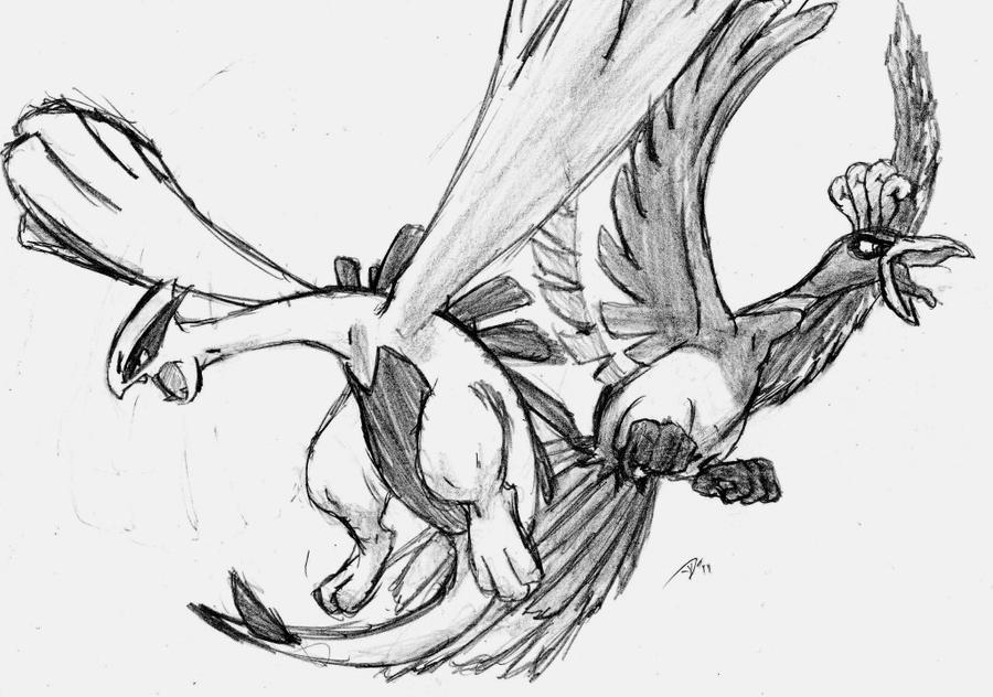 How to Draw Lugia: 7 Steps (with Pictures) - wikiHow