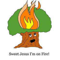 Sweet Jesus I'm on Fire