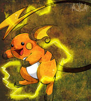 _.Pokemon - Raichu._ by Metros2soul