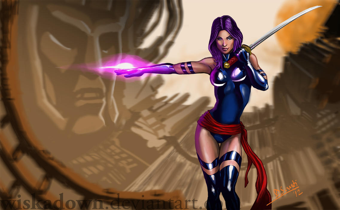 Psylocke By Wiskadown On DeviantArt