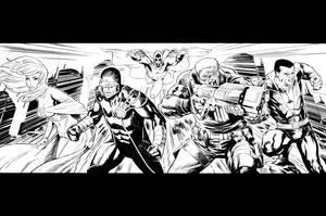 Uncanny X-Men by csmithart