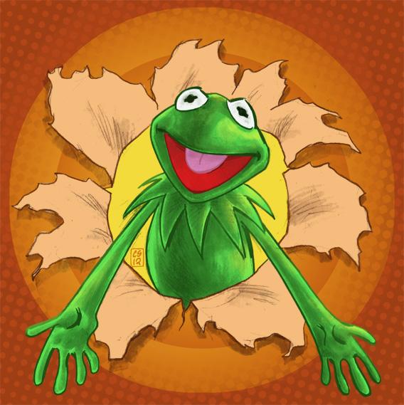 Kermit by csmithart