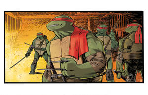 TMNT colors by csmithart