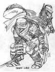 Dark Leo sketches