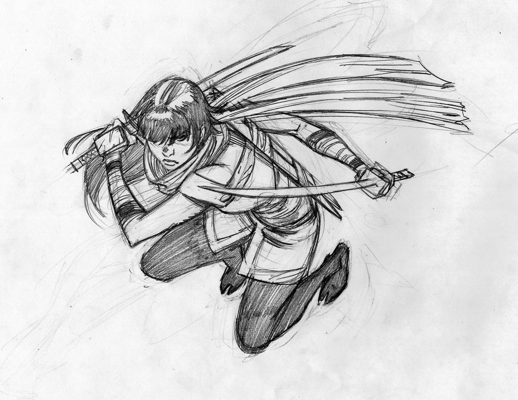 Karai sketch by csmithart