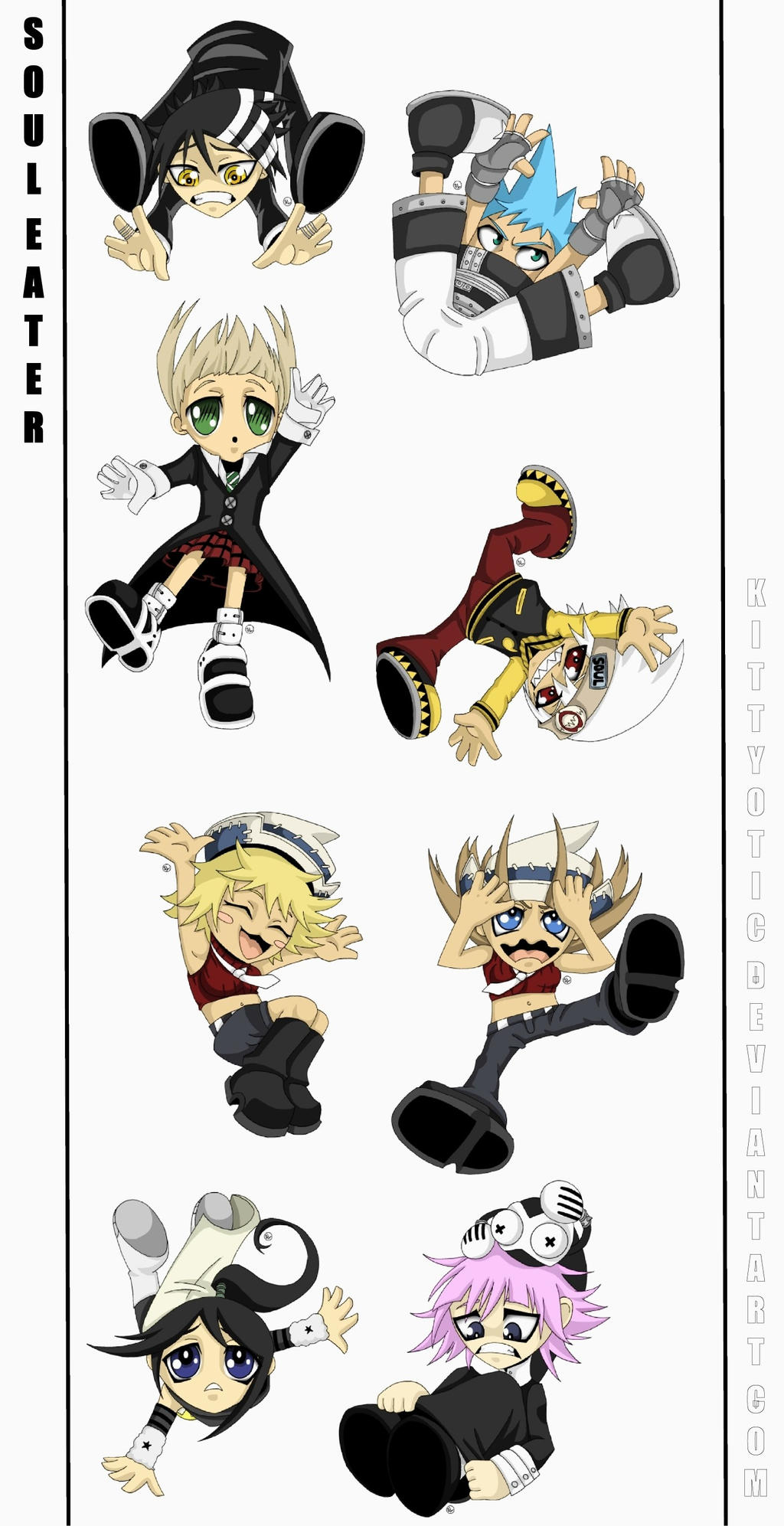 Soul Eater Chibis!! by Kittyotic on DeviantArt