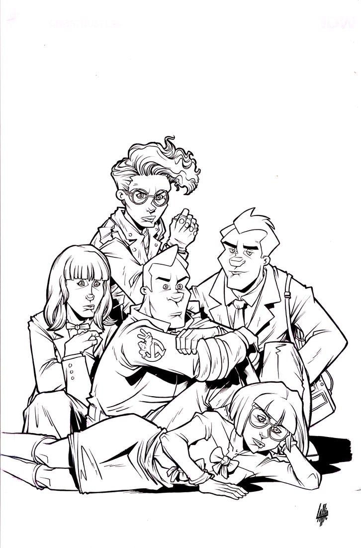 Ghostbusters 101 #4 cover IDW by teamlattie