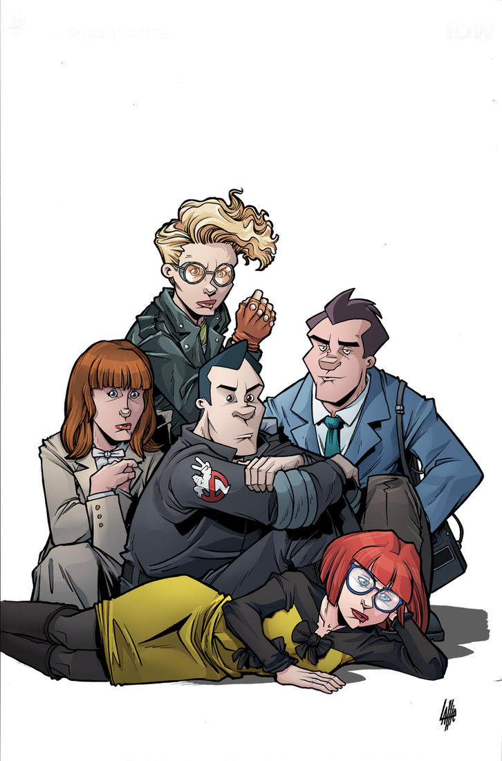 Ghostbusters 101 #4 cover colors IDW by teamlattie