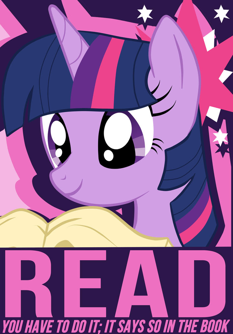 Twilight Sparkle Poster by Chingilin
