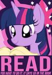 Twilight Sparkle Poster