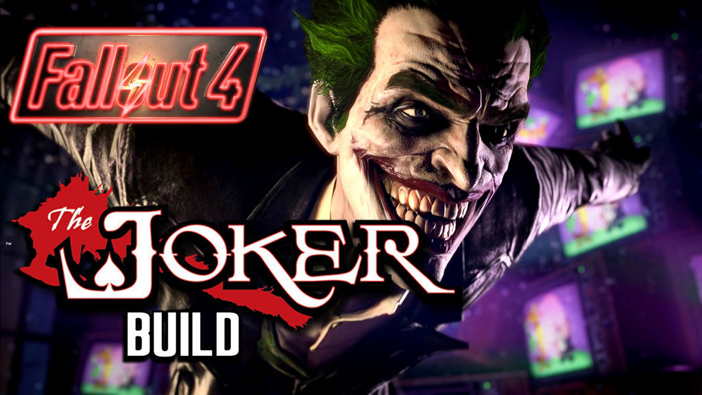 Fallout 4 Build: The Joker by AinzOoalGown147 on DeviantArt