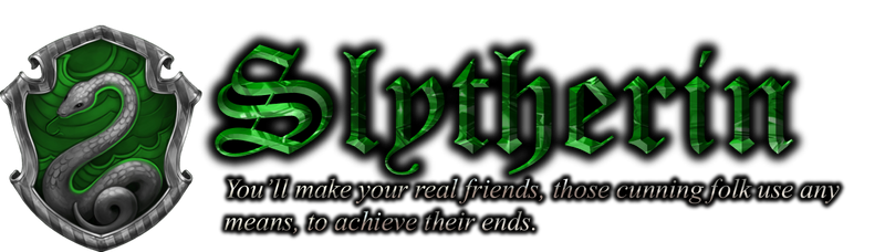 Slytherin Emerald logo