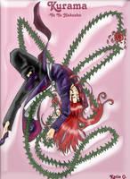 Kurama of Yu Yu Hakusho by DarkWonderland14