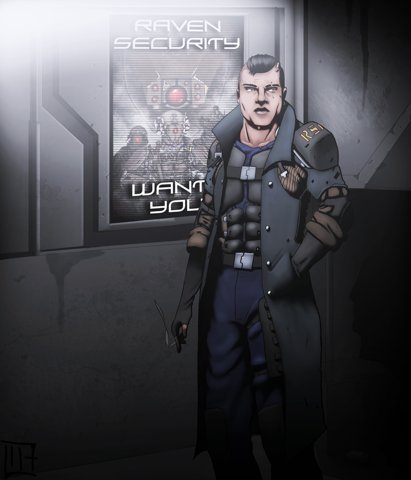 Detective Marcus Byrn - Raven Security Forces by Protocol117