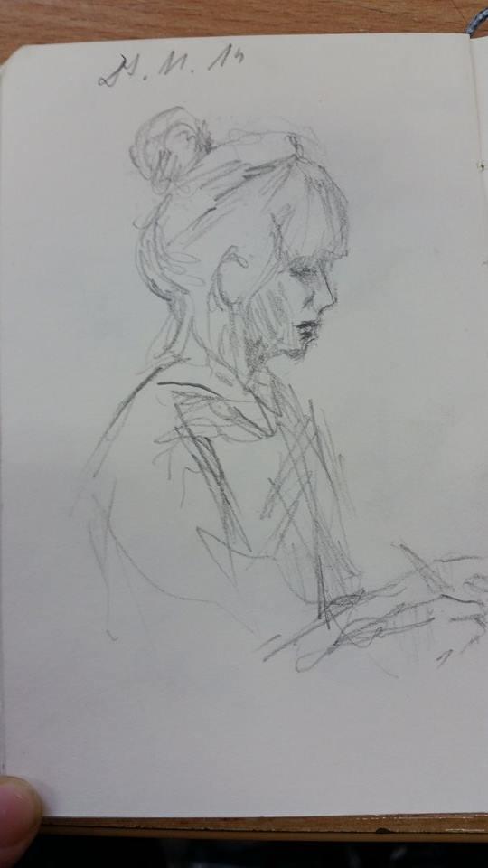 Maja, the russian filology student by Jerzynka