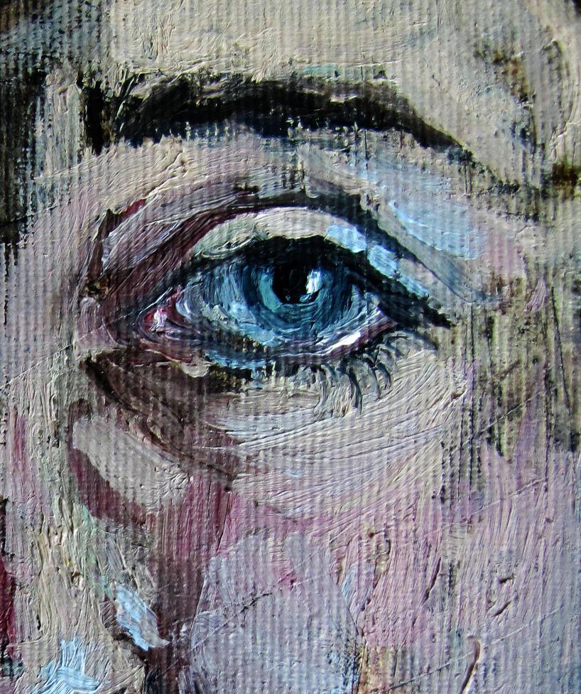 an eye by Jerzynka