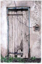 cellar door by Jerzynka