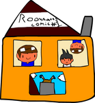 Roommates Comic # 1 - Moving In