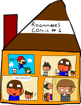 Roommates Comic # 6 - Riimote