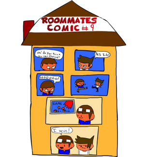 Roommates Comic # 9 - Smash