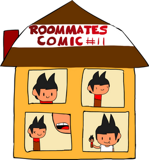 Roommates Comic # 11 - Munch