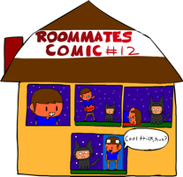 Roommates Comic # 12 - Halloween Tricks