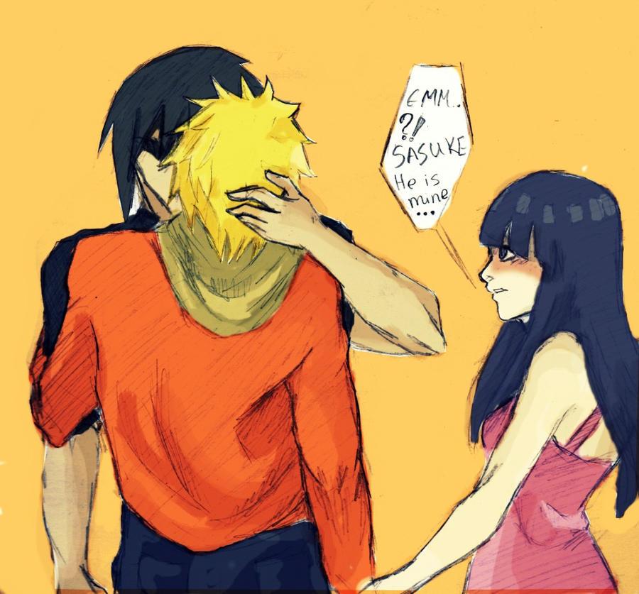 Naruto Hinata Sasuke Take You Hands Of Naruto By Yona Art On Deviantart