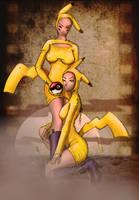 Pikachu girls