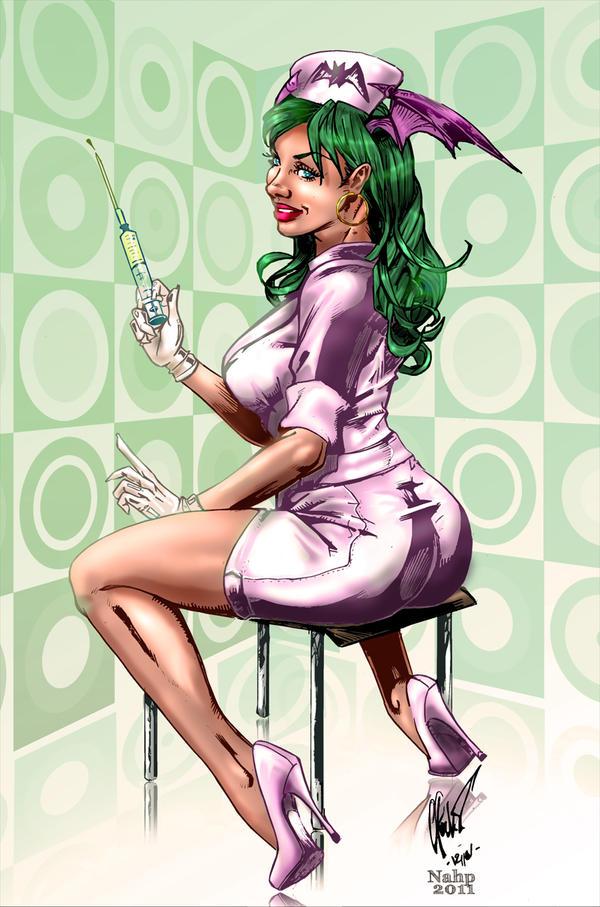 Nurse Morrigan - colors by nahp75