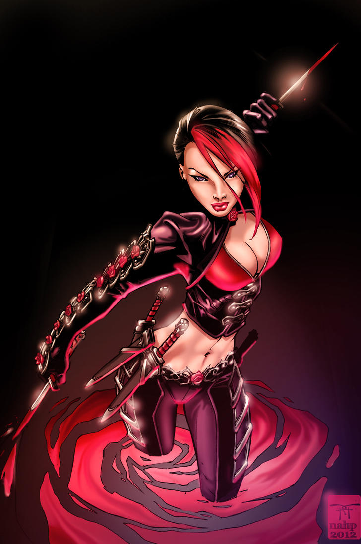 Rose - Cover Aspen Comics - Colors - 2012 by nahp75