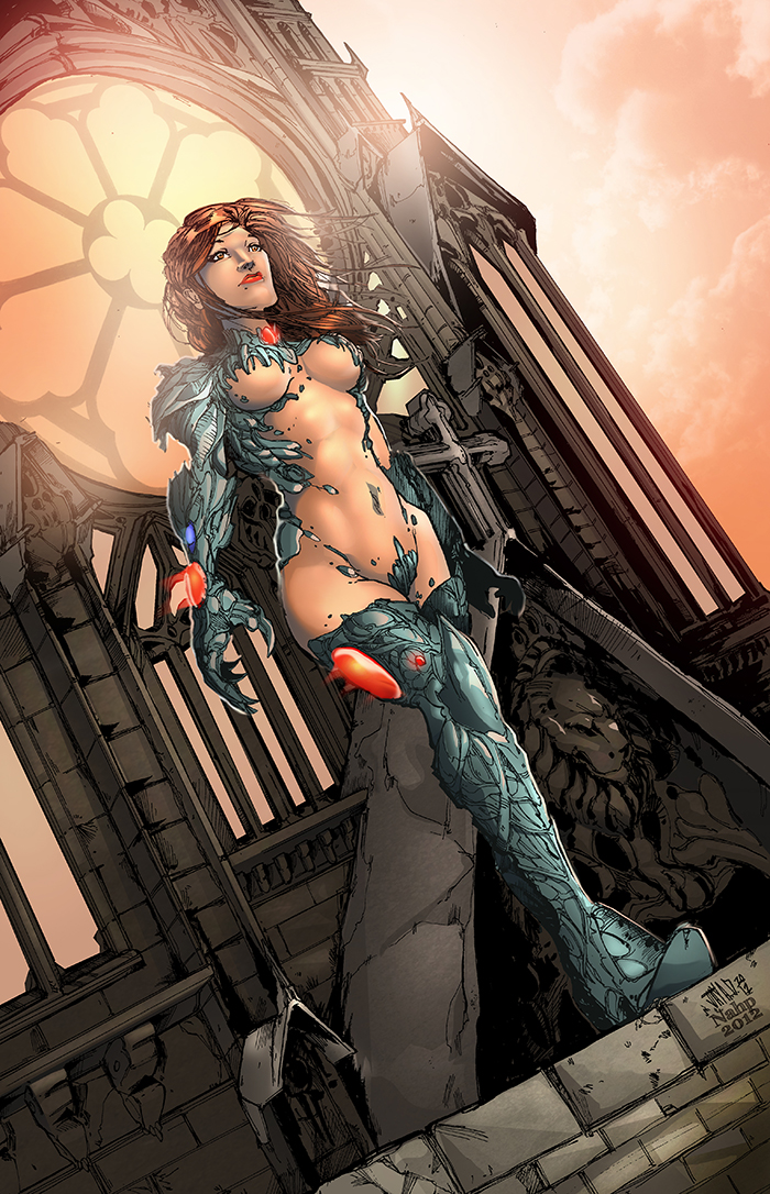 Witchblade colors by nahp75