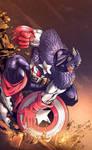 Captain America Colors by nahp75