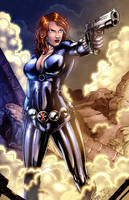Black Widow colors by nahp75