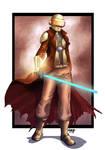Helmeted Jedi by nahp75