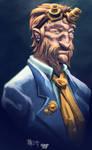 Goldener Germ Portrait by nahp75