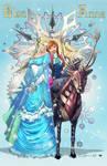 Steampunk Elsa Anna Colors