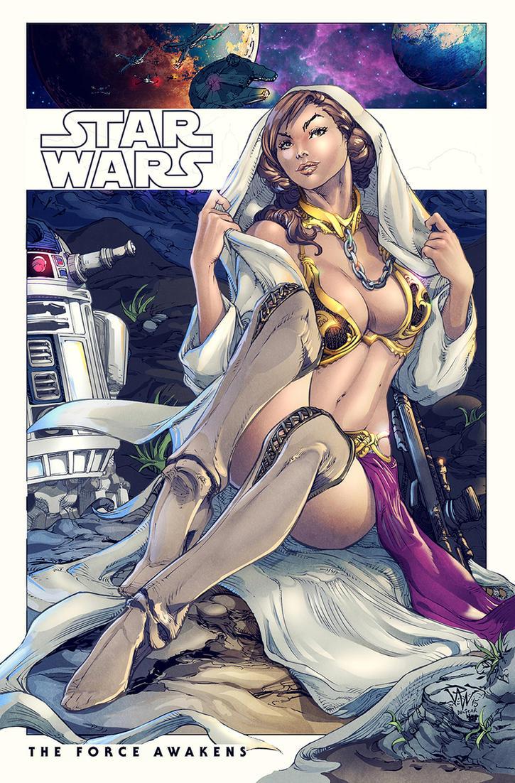Slave Leia Colors by nahp75