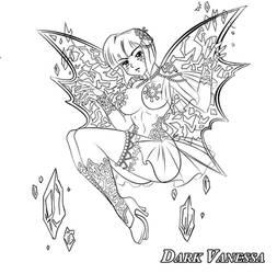 Ice fairy Nabiki - ink by nahp75