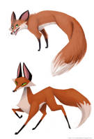 Little Foxes by adailey