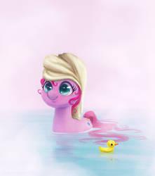 Pinkie Pie Bath Time