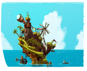 Inventor's Island by adailey