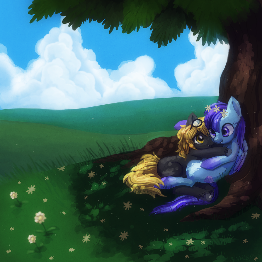 Together in the Sun by adailey