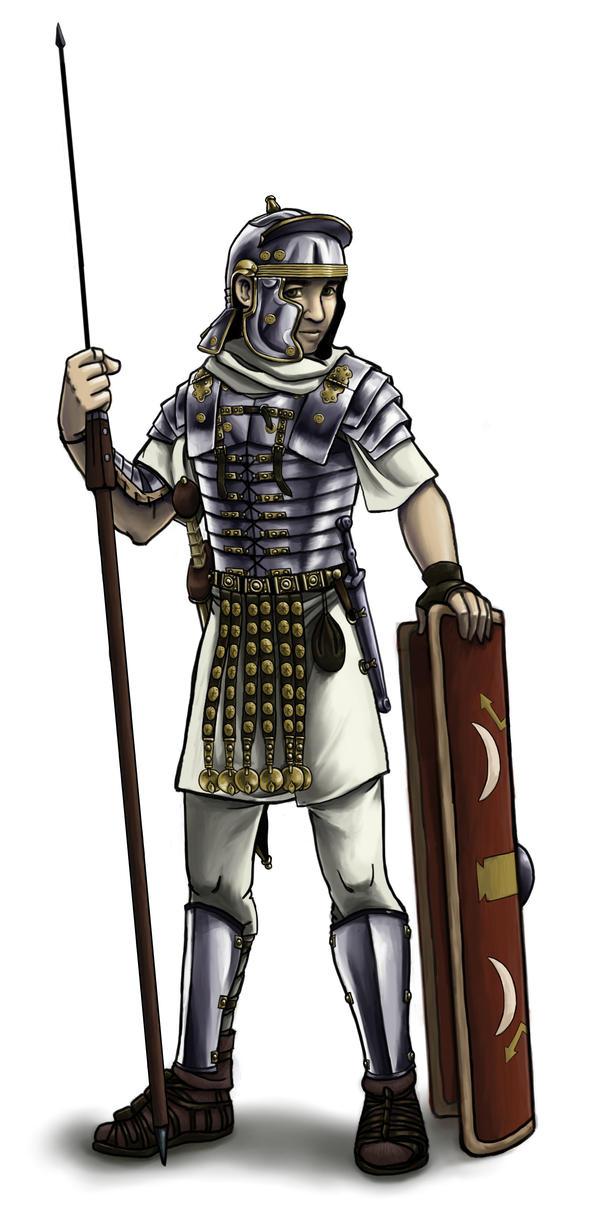 Roman legionary by joriavlis