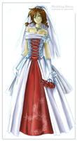 Wedding Dress by joriavlis