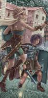 Casus Belli: Marine + Pharao by joriavlis