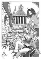 Alea : Comic by joriavlis