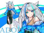 [OPEN] Adoptable #19 kemonomimi by jendoos