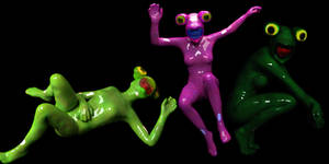Living Frog Suits