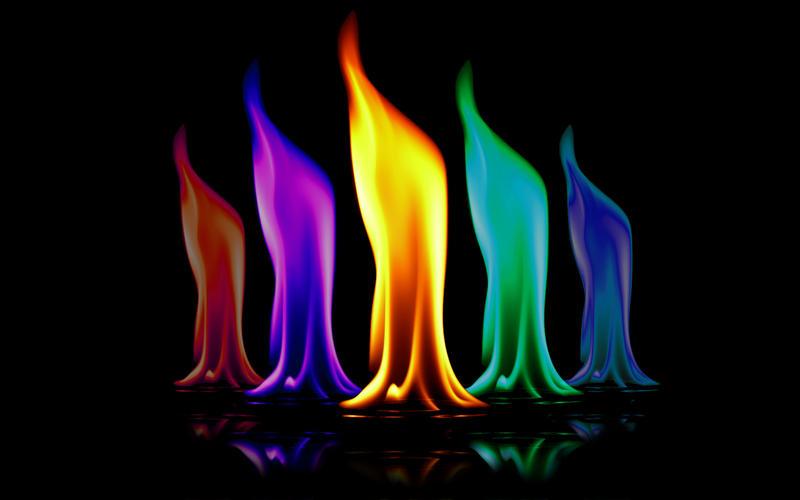 Flames Wallpaper -new reso-
