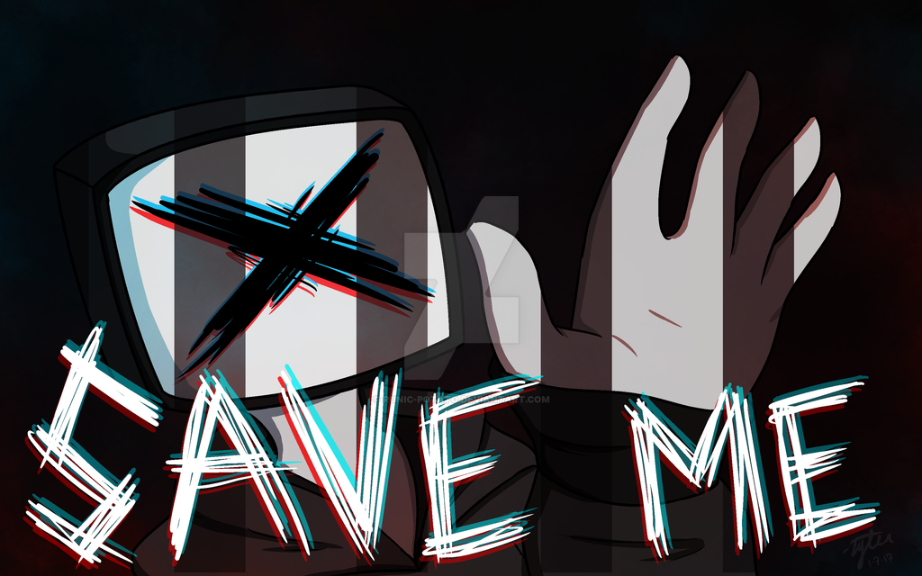 SAVE ME - battle for the net by Runic-Potato